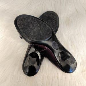 Sofft Shoes - Sofft Purple Patent Leather Pumps Size 7.5 M